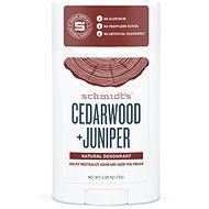 SCHMIDT'S Signature cedrové dřevo + jalovec 58 ml - Pánský deodorant