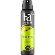 FA Men Fresh & Free Mint & Bergamot 150 ml - Pánský deodorant