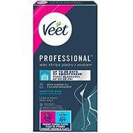 VEET Studené voskové pásky pro citlivou pokožku 12 ks - Depilační pásky