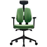 3DE DUOrest Butterfly - zelená - Kancelářská židle