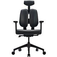 3DE DUOrest Butterfly - tmavě šedá - Kancelářská židle