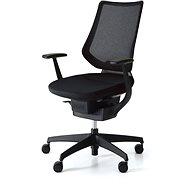 3DE ING Glider 360° černá - Kancelářská židle