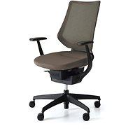 3DE ING Glider 360° hnědá - Kancelářská židle