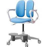 3DE Duorest Milky modrá s podpěrou nohou - Dětská židle