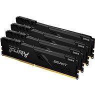 Operační paměť Kingston FURY 128GB KIT DDR4 3000MHz CL16 Beast Black