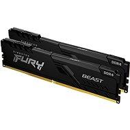 Kingston FURY 32GB KIT DDR4 2666MHz CL16 Beast Black 1Gx8 - Operační paměť