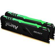 Kingston FURY 32GB KIT DDR4 3200MHz CL16 Beast RGB 1Gx8 - Operační paměť