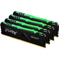 Kingston FURY 64GB KIT DDR4 3200MHz CL16 Beast RGB - Operační paměť