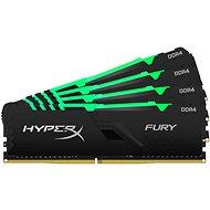 HyperX 64GB KIT DDR4 2666MHz CL16 FURY RGB series - Operační paměť