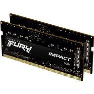 Kingston FURY SO-DIMM 32GB KIT DDR4 2666MHz CL15 Impact 1Gx8