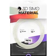 3DSimo Filament PETG/PLA - bílá 15m - Tisková struna