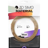 3DSimo Filament WOOD hnědá - Filament pro 3D pera