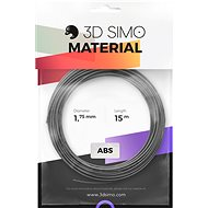 3DSimo Filament TERMOCHROME - stříbrná 15m - Tisková struna