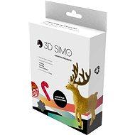 3DSimo Vánoční kreativní box - Sada