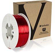 Verbatim PET-G 1.75mm 1kg červená transparentní - Filament