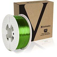 Filament Verbatim PET-G 1.75mm 1kg zelená transparentní - Filament