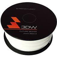 3DW PLA 1.75mm 1kg bílá - Tisková struna