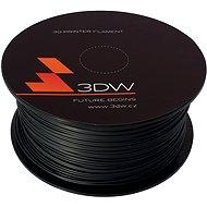 3DW PLA 1.75mm 1kg černá - Tisková struna