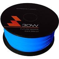 3DW PLA 1.75mm 1kg modrá - Tisková struna