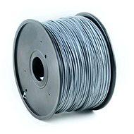 Gembird Filament ABS stříbrná - Tisková struna