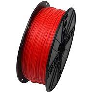 Gembird Filament PLA fluorescentní červená - Tisková struna