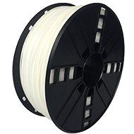 Gembird Filament flexibilní bílá - Filament