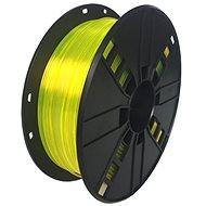 Gembird Filament PETG žlutá - Tisková struna