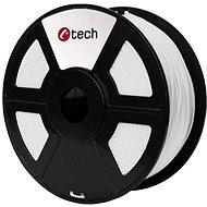 C-TECH Filament ABS bílá
