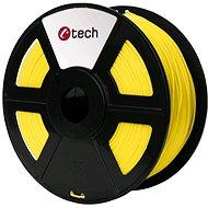 C-TECH Filament ABS žlutá