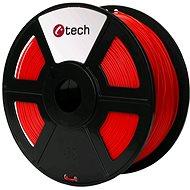 C-TECH Filament PLA fluorescentní červená