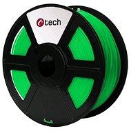 C-TECH Filament PLA fluorescentní zelená
