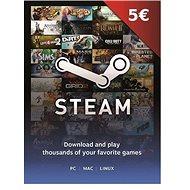 Steam peněženka - 5€
