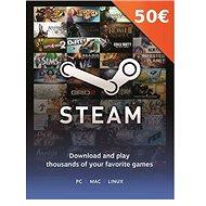 Steam peněženka - 50€