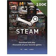 Steam peněženka - 100€
