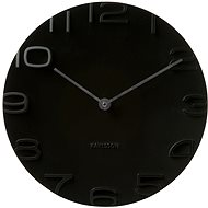 KARLSSON 5311BK - Nástěnné hodiny
