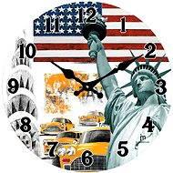 LOWELL 14849 - Nástěnné hodiny
