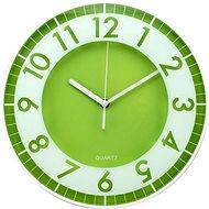 POSTERSHOP ZH09793D Moderní - zelenobílá, 30 cm - Nástěnné hodiny