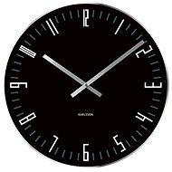 KARLSSON 5615BK - Nástěnné hodiny