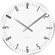 KARLSSON 5615WH - Nástěnné hodiny