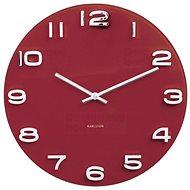 KARLSSON 5640RD - Nástěnné hodiny