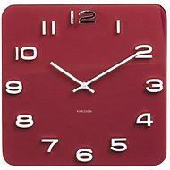 KARLSSON 5641RD - Nástěnné hodiny