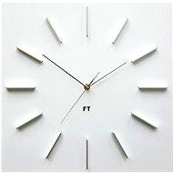 FUTURE TIME FT1010WH Square White - Nástěnné hodiny