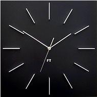 FUTURE TIME FT1010BK  Square Black - Nástěnné hodiny