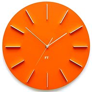 FUTURE TIME FT2010OR Round Orange - Nástěnné hodiny
