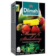 Dilmah Čaj černý Mango Jahoda 20x1,5g - Čaj