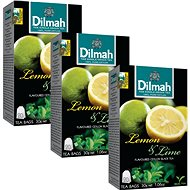 Dilmah Lemon Lime Black Tea 20x1,5g - Tea