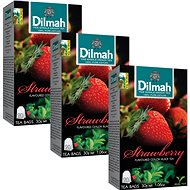 Dilmah černý Jahoda 20x1,5g tripack - Čaj
