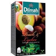 Dilmah Čaj černý Broskev Lychee 20x1,5g - Čaj