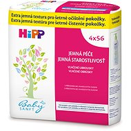 HiPP Babysanft Cleaning wipes 4 x 56 pcs - Baby Wet Wipes