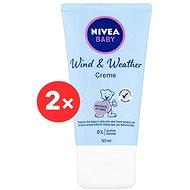 NIVEA Baby Wind&Weather 2× 50 ml - Dětský tělový krém